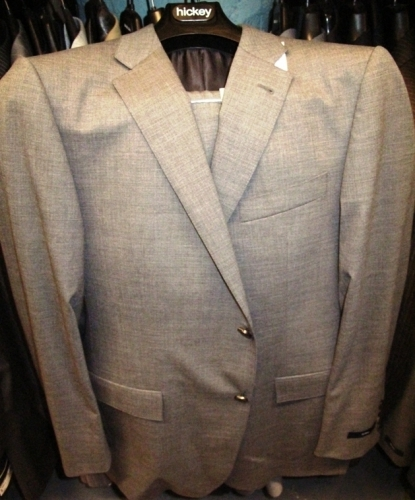 One of many Hickey suits (Original markdown: $600)