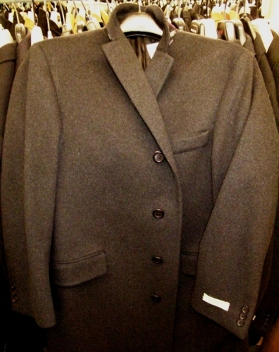 Burberry overcoats (Original markdown: $600)