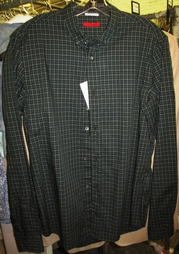 Prada plaid shirts (Original markdown: $200)