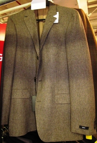 Hugo Boss hounds-tooth jackets (Original markdown: $225)