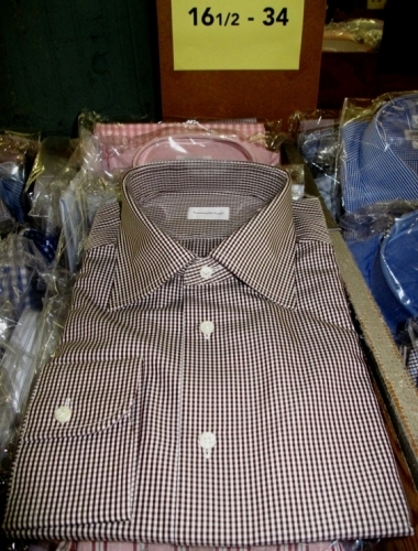 Zenga dress shirts (Original markdown: $150)