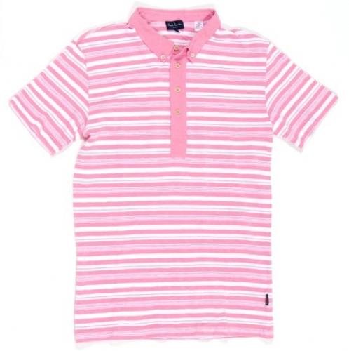 Paul Smith striped cotton polos ($120 down to $30) XL