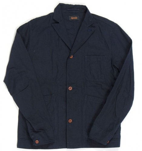 Chimala men\'s cotton & linen twill engineer coats ($400 down to $100) L