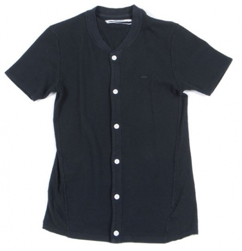 Robert Geller short sleeve button down henleys ($225 down to $130) 46, 48, 50