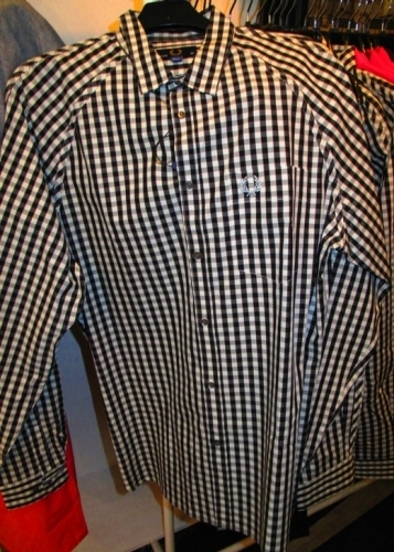 Fred Perry taped gingham shirt ($75)