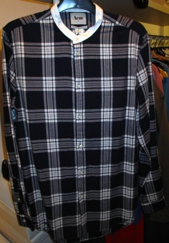 Acne brushed cotton shirts ($75)
