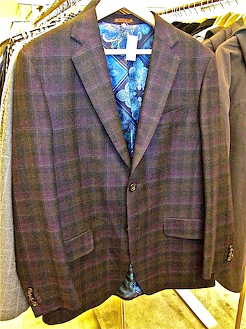Etro windowpane jackets - $290