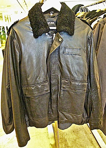 Spurr shearling collar police jackets - $420