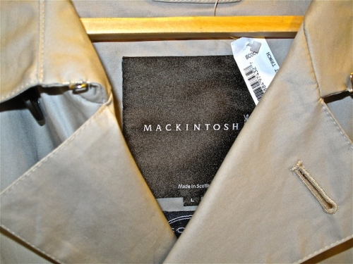 Mackintosh trenches