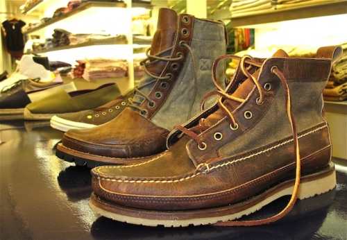 Red Wing rough & tough copper boots - $95
