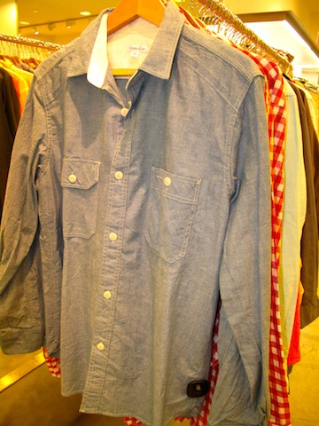 Steven Alan denim shirts for $75