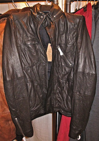 Gum resin leather Jackets for $450