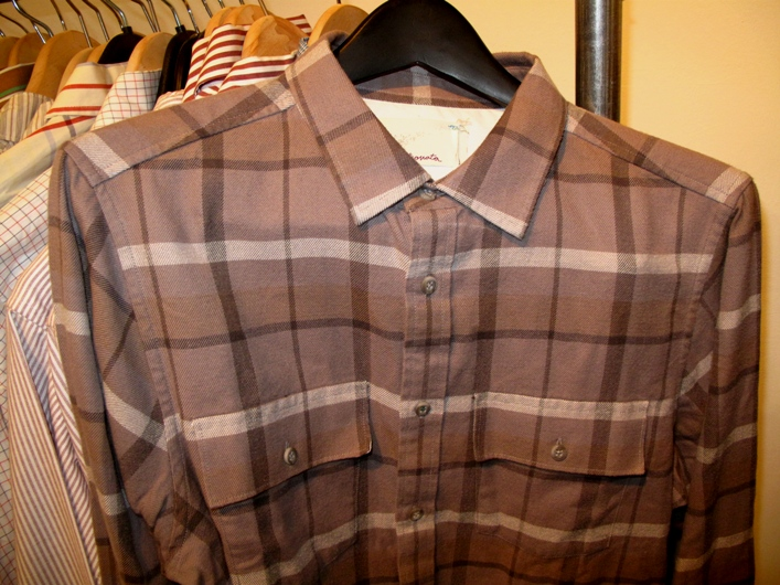 Trovata flannel plaid shirt
