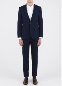 Billy Reid Navy Suit