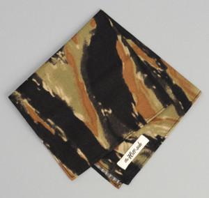 The Hill-Side Tiger Camo Pocket Square
