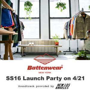 Battenwear Party Flyer