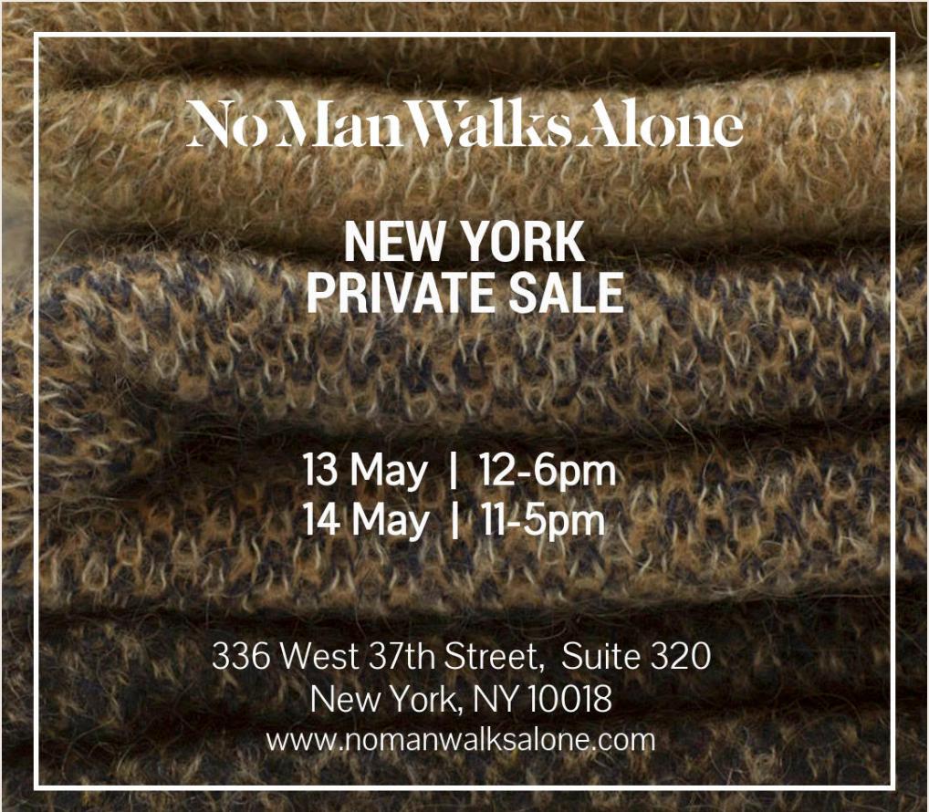 No Man Walks Alone Flyer
