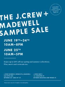 J. Crew Flyer