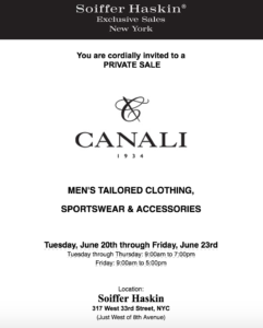 Canali Flyer