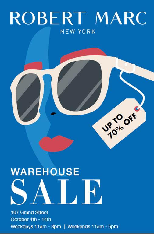 97d3b235617 Robert Marc Warehouse Sale